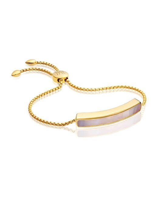 Monica Vinader | Gray Baja Chain Bracelet | Lyst