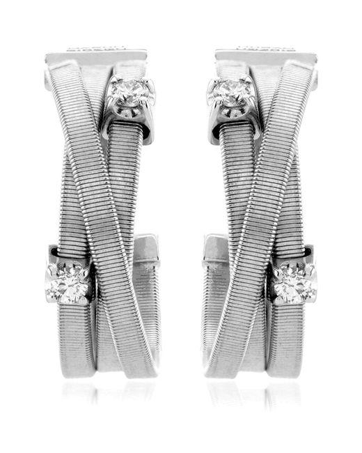 Marco Bicego | White Goa Strand Diamond Earrings | Lyst