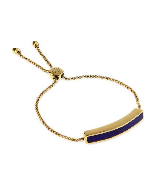 Monica Vinader   Blue Baja Chain Bracelet   Lyst