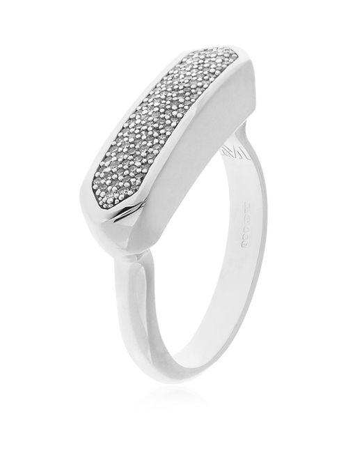 Monica Vinader - Metallic Baja Ring Diamond - Lyst