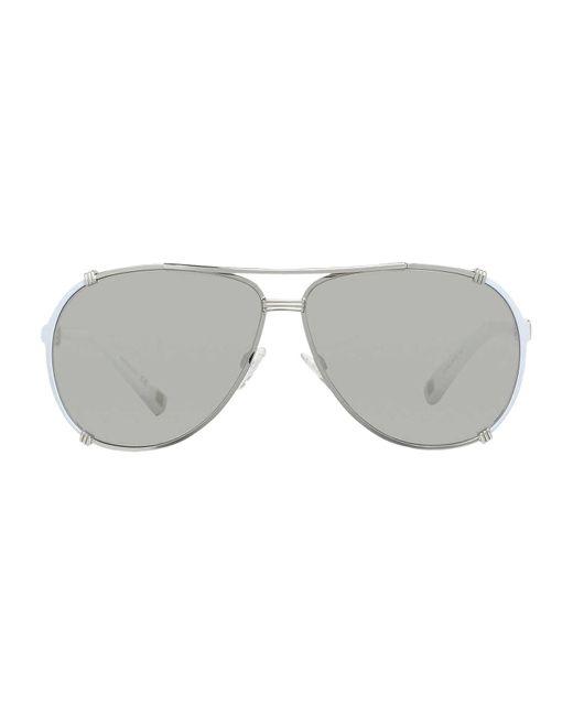 Dior - Metallic Dior Chicago 2 Str Aviator Sunglasses - Lyst
