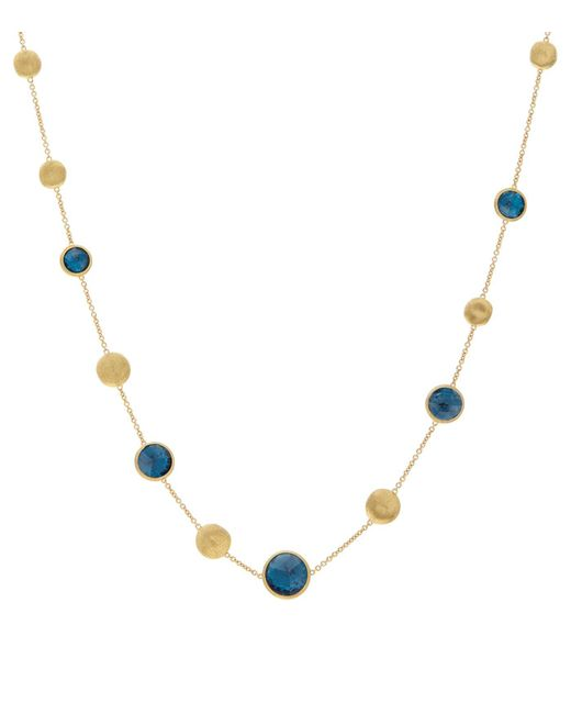 Marco Bicego - Blue Jaipur Tropez Chain Necklace - Lyst