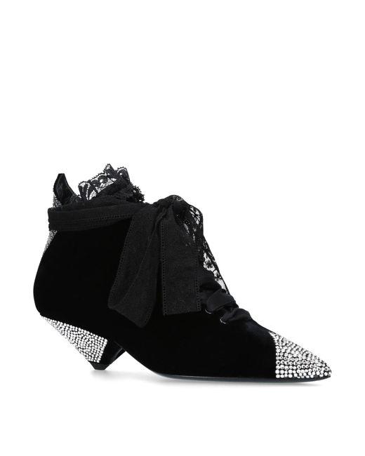 Saint Laurent - Black Blaze 45 Boots - Lyst