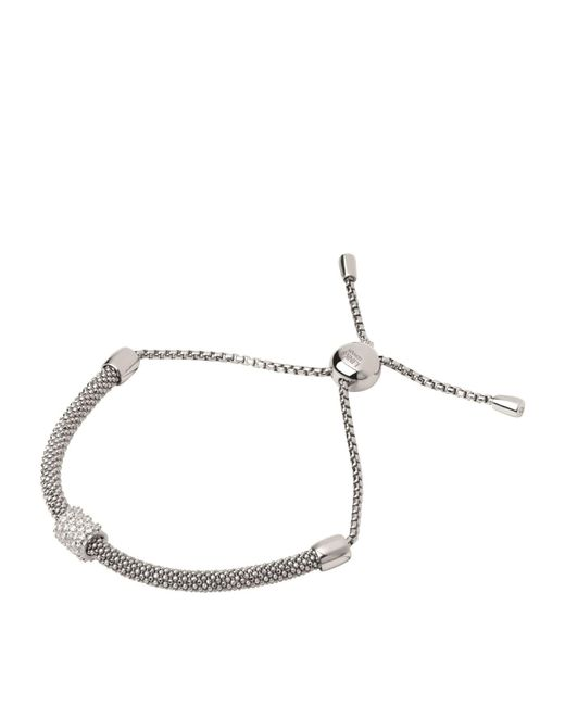 Links of London - Metallic Starlight Sterling Silver And Sapphire Round Bracelet - Lyst