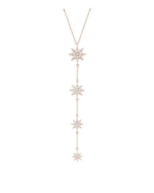 Lyst Bee Goddess Venus Star Necklace In White