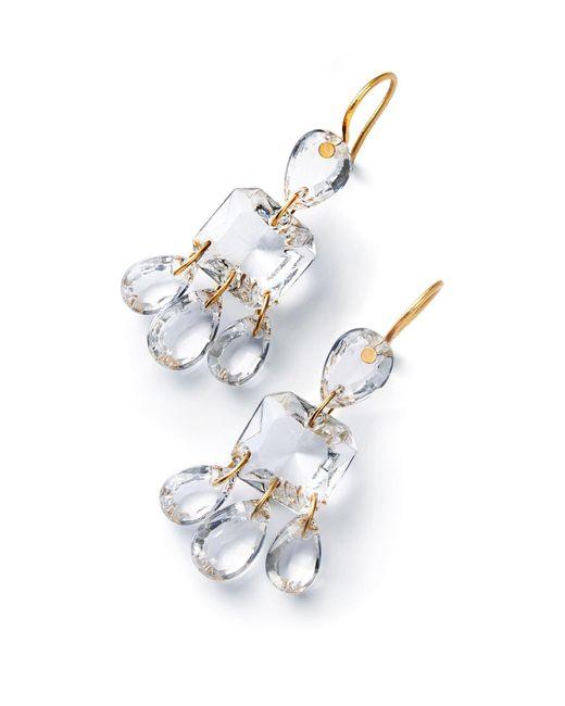 Baccarat - Multicolor Clear 3 Tier Marie-hlne De Taillac Earrings - Lyst