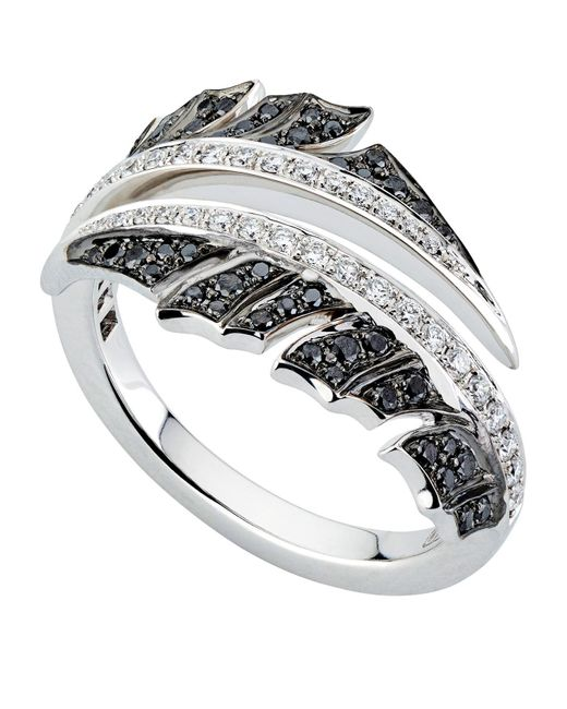 Stephen Webster - Metallic White Gold Magnipheasant Pav Diamond Split Ring - Lyst