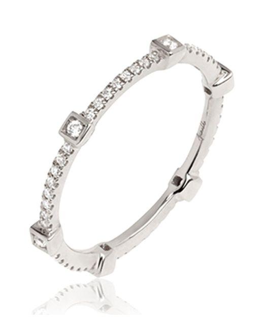 Annoushka - Metallic Eclipse Pavilion Diamond Ring - Lyst