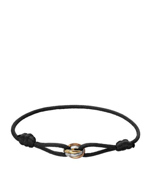 Cartier - Multicolor Cord Trinity De Bracelet - Lyst