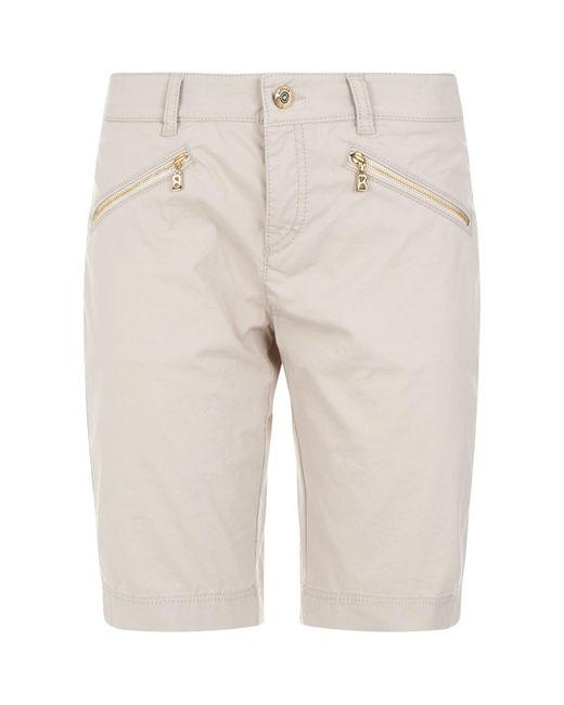 Bogner - Natural Cresta Bermuda Shorts - Lyst