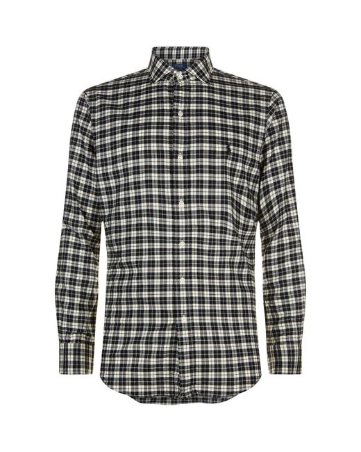 Ralph Lauren - Multicolor Slim Fit Checked Cotton Shirt for Men - Lyst