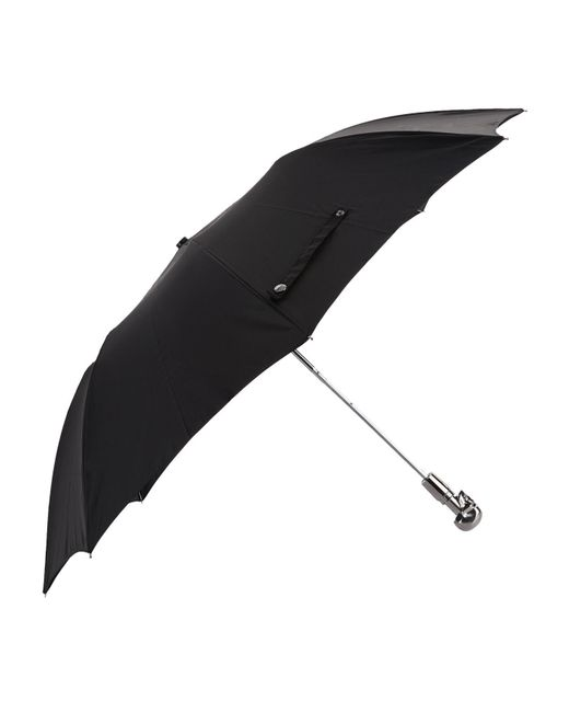 Alexander McQueen | Black Foldable Skull Umbrella | Lyst