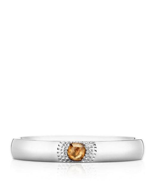 De Beers - Metallic White Gold Talisman You And Me Ring - Lyst
