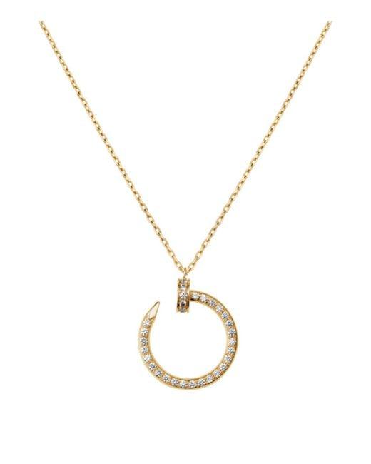 Cartier - Metallic Yellow Gold Juste En Clou Pav Diamond Necklace - Lyst