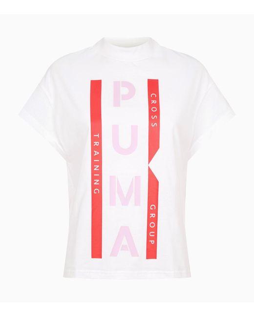 b5b8d196 Lyst - PUMA Xtg Women's Graphic Tee in White - Save 30%