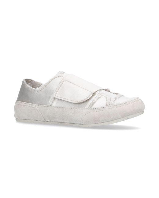 Pedro Garcia | Natural Palmira Satin Sneakers | Lyst