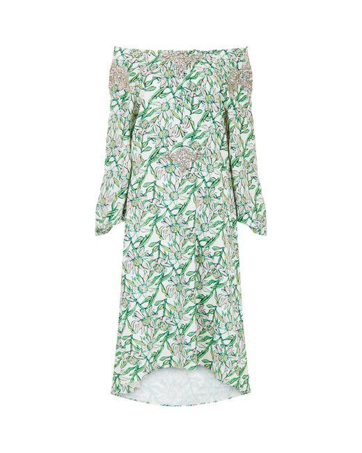 Dodo Bar Or - White Mariangela Embellished Dress - Lyst
