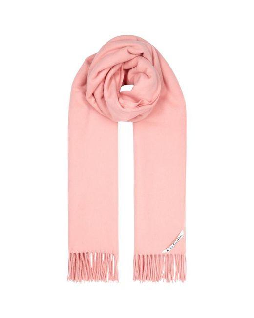 Acne - Canada Pink Wool Scarf - Lyst