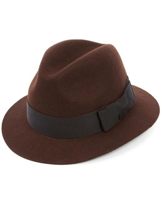 Christys' - Brown Creswell Trily Hat for Men - Lyst