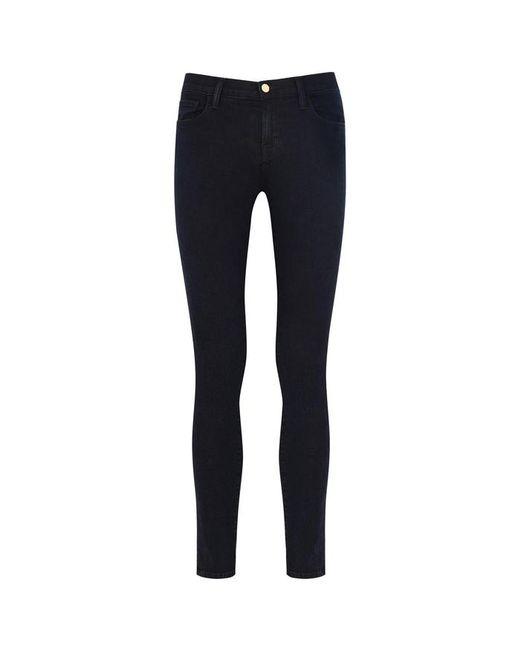 J Brand - Blue 811 Indigo Cropped Skinny Jeans - Size W31 - Lyst