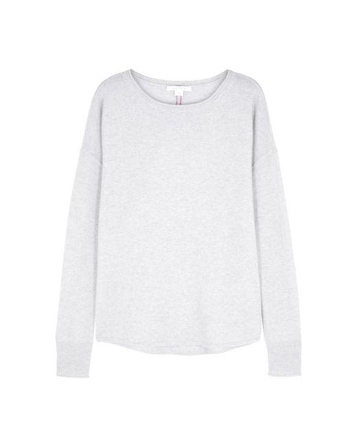 Duffy - Gray Light Grey Cashmere Jumper - Lyst