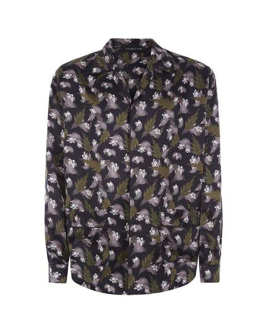 Meng - Multicolor Silk Satin Shirt for Men - Lyst