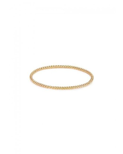 Catbird | Metallic Twisted 14kt Gold Ring | Lyst