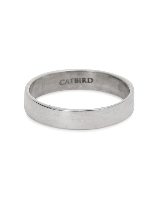 Catbird | Metallic Tomboy First Sterling Silver Midi Ring | Lyst