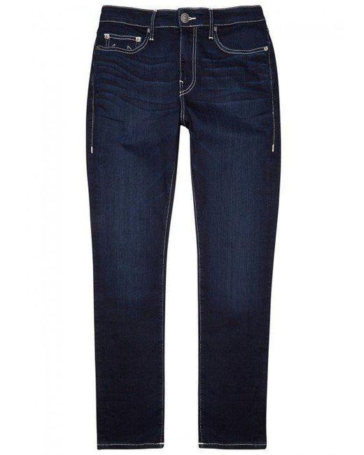 True Religion | Blue Jack Runner Slim-leg Jeans for Men | Lyst