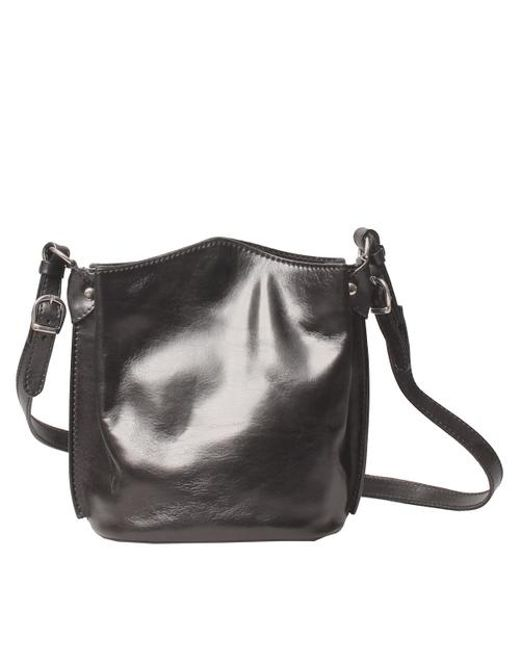 Maxwell Scott Bags Women S Black Leather Bucket Bag Lyst