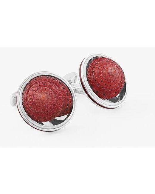 Tateossian - Red Strawberry Top Shell - Lyst