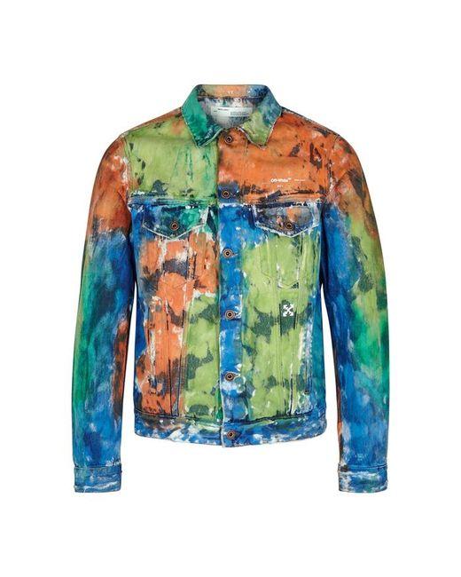 2340fd4a58d Off-White c o Virgil Abloh Slim Denim Jacket in Blue for Men - Save ...