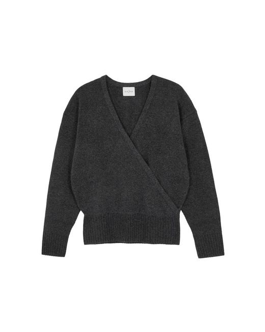 Le Kasha - Gray London Charcoal Cashmere Jumper - Lyst