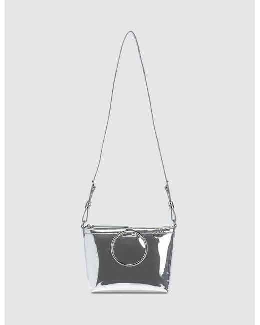 Kara - Metallic Ring Crossbody Bag - Lyst