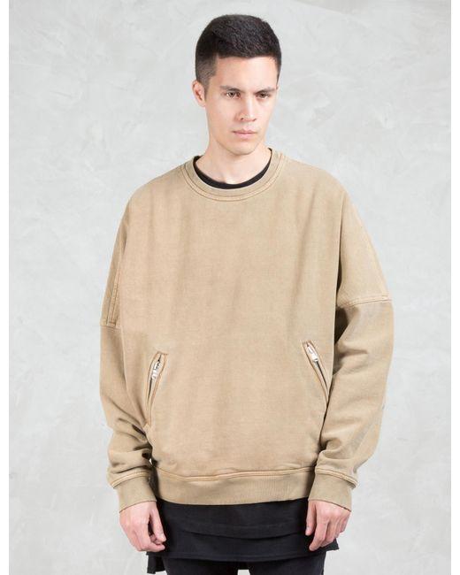 Dominans stravan Oversize Crewneck Sweatshirt for Men | Lyst