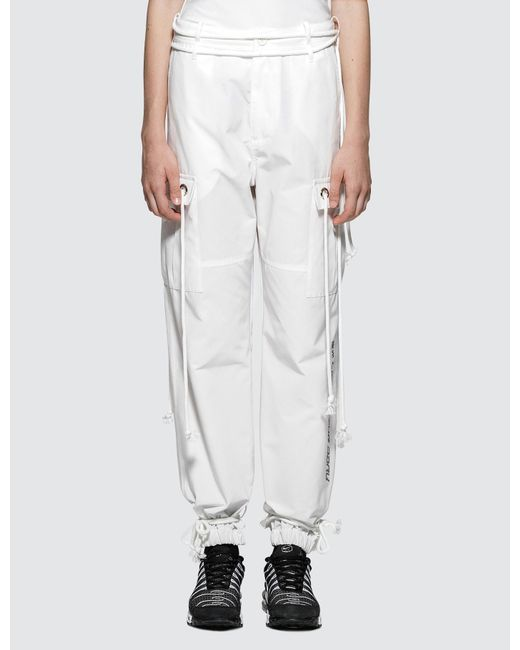 Hyein Seo | White Light And Dark Cargo Pants | Lyst