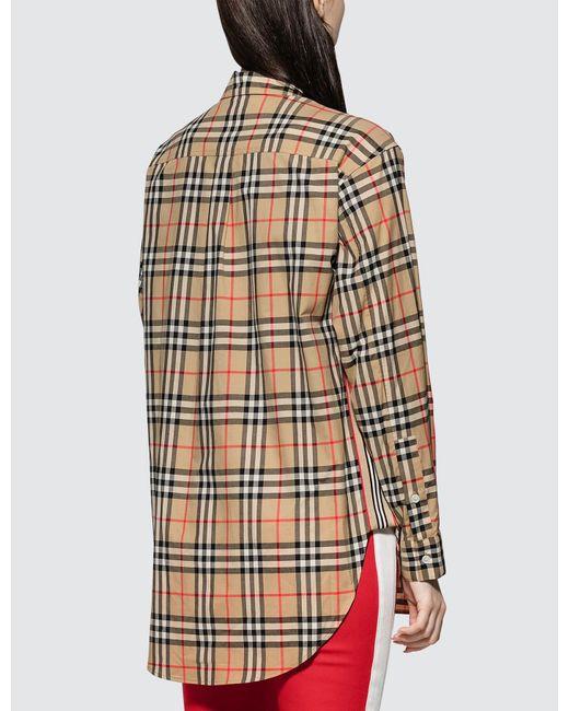 3e7396eac6b497 Burberry - Natural Turnstone Shirt - Lyst ...