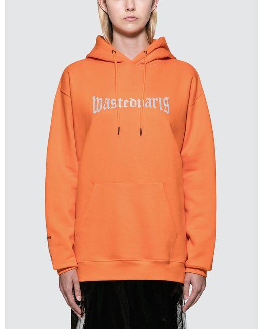 Wasted Paris - Orange London Reflective Hoodie - Lyst