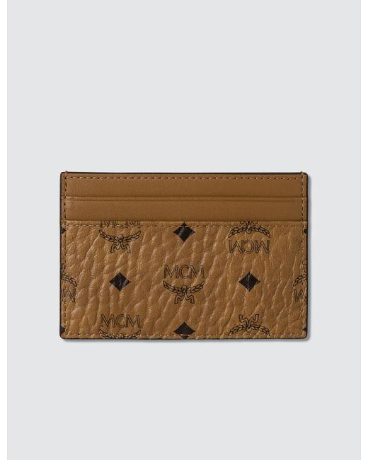 42d20f3ec20 MCM - Brown Card Case for Men - Lyst ...