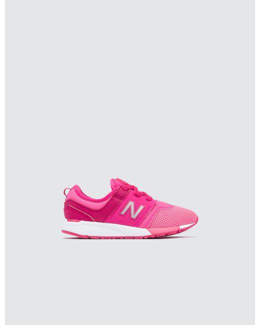 New Balance - Pink 247 Infant - Lyst