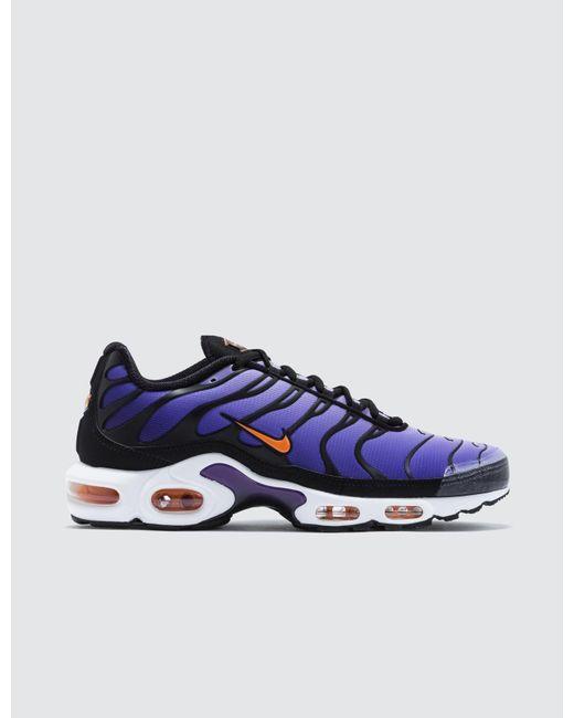 00bbccf0783da Nike - Black Air Max Plus Og for Men - Lyst ...