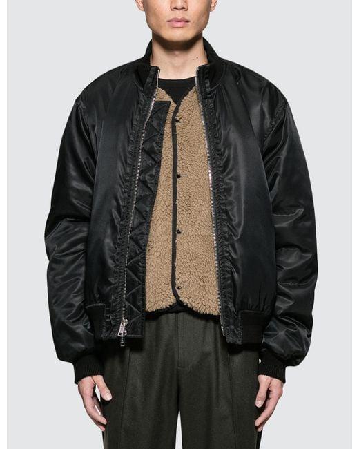 3.1 Phillip Lim - Black Ma Bomber Jacket for Men - Lyst