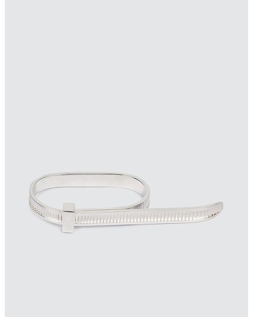 Ambush   Metallic Zip Tie 2-finger Ring   Lyst