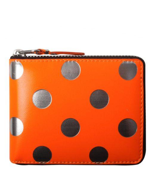 Comme des Garçons - Sa7100gb Optical Group Dot Wallet Orange - Lyst