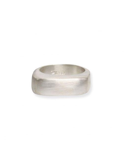 Rosa Maria - Metallic Tumi Asymmetrical Ring Silver - Lyst