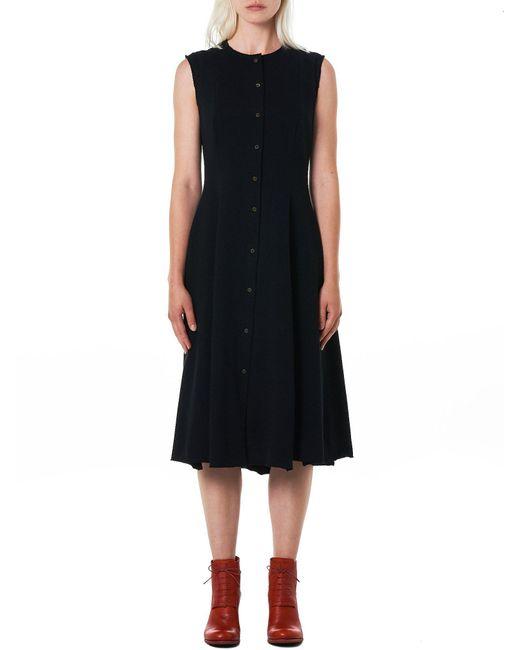 Ma+ - Black Knit Sleeveless Dress - Lyst