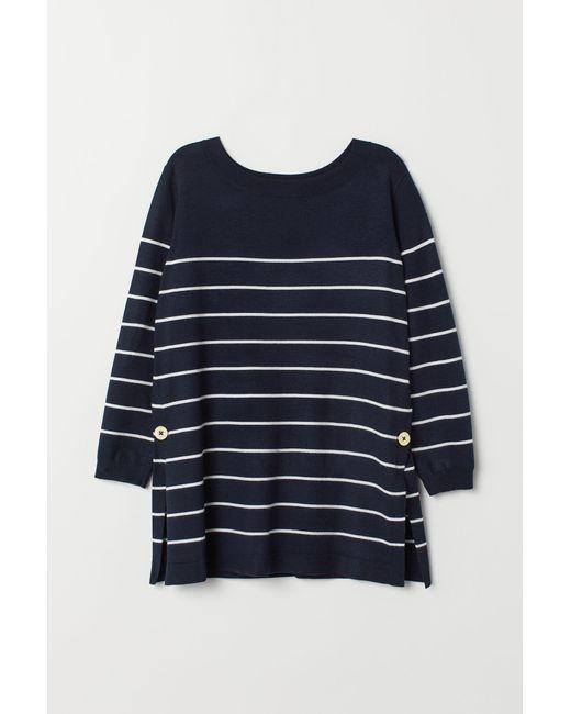 H&M - Blue Mama Fine-knit Nursing Jumper - Lyst