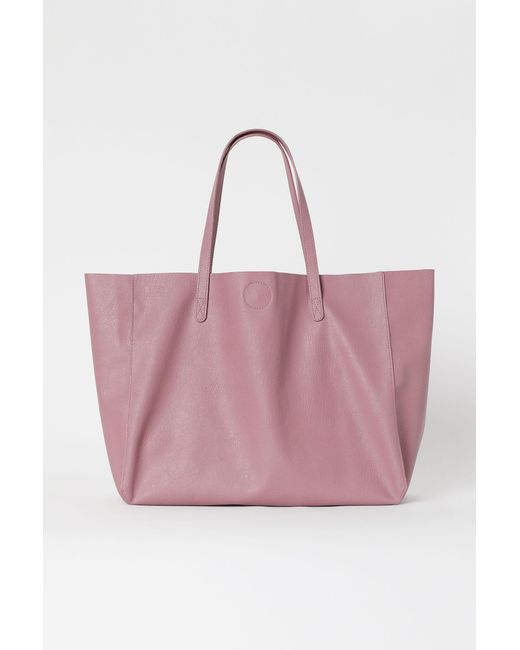 H&M Pink Shopper