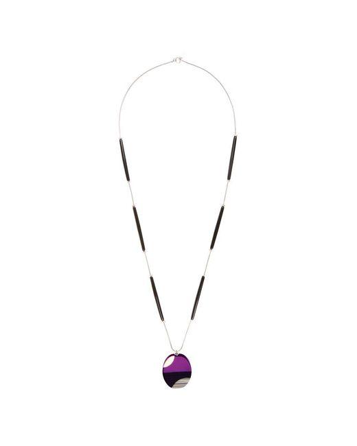 Hobbs | Purple Kat Pendant | Lyst