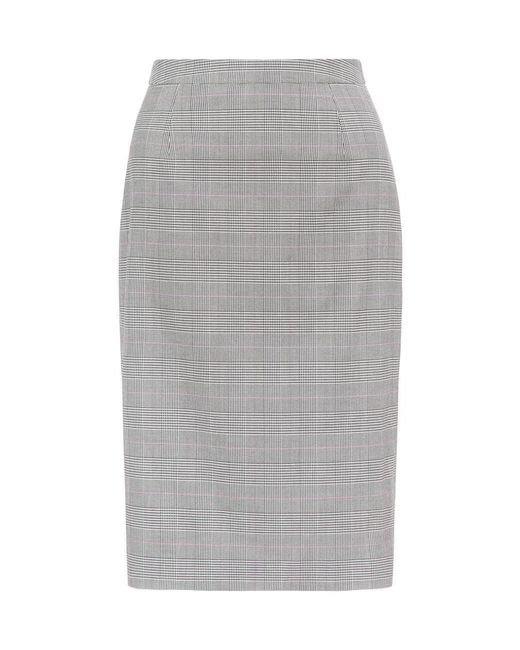 Hobbs - Gray Bryony Skirt - Lyst